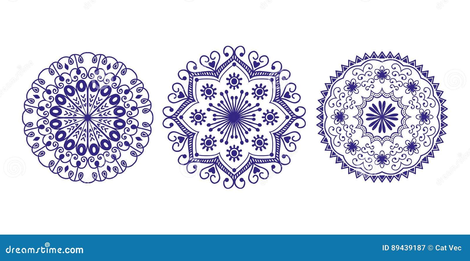henna tattoo mehndi flower template doodle ornamental lace