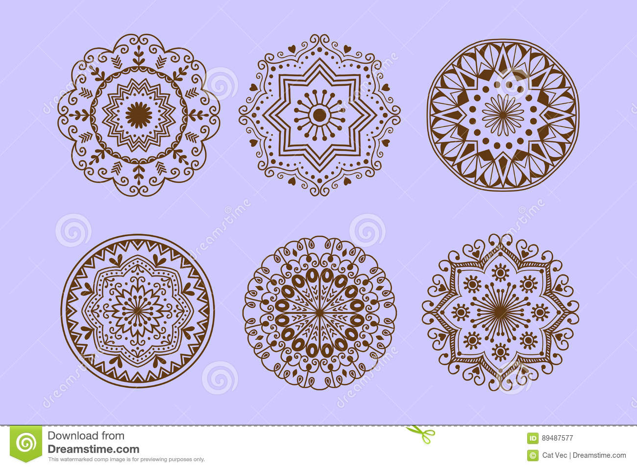 191171492749f Henna tattoo mehndi flower template doodle ornamental lace decorative  element and indian design pattern paisley
