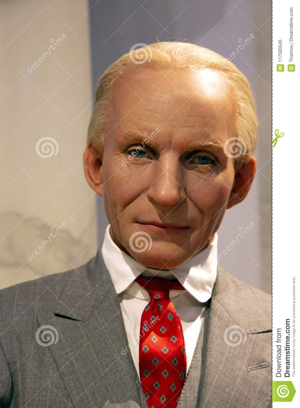 Henry Ford in Madame Tussauds of New York