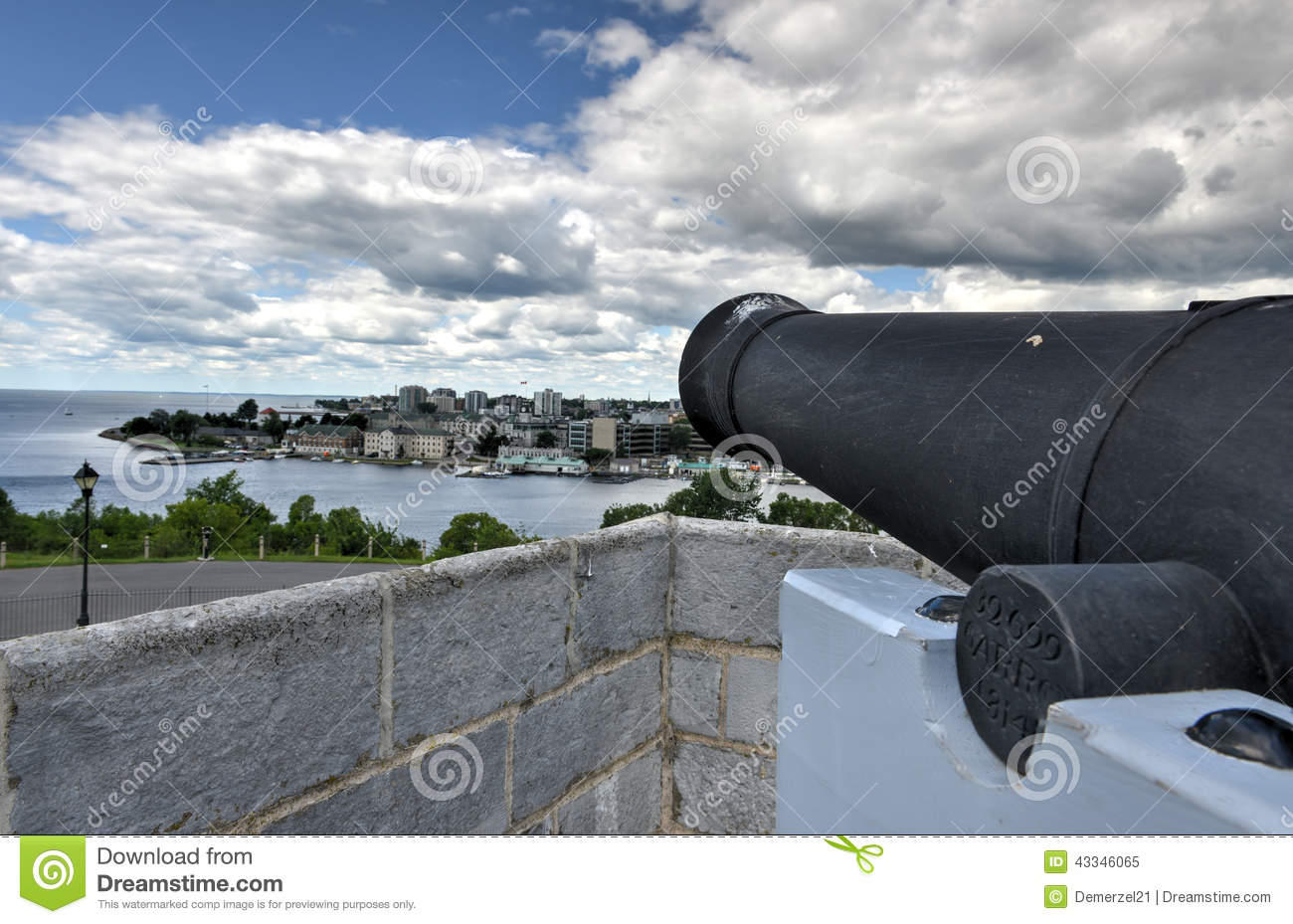Henry National Historic Site Cannon forte