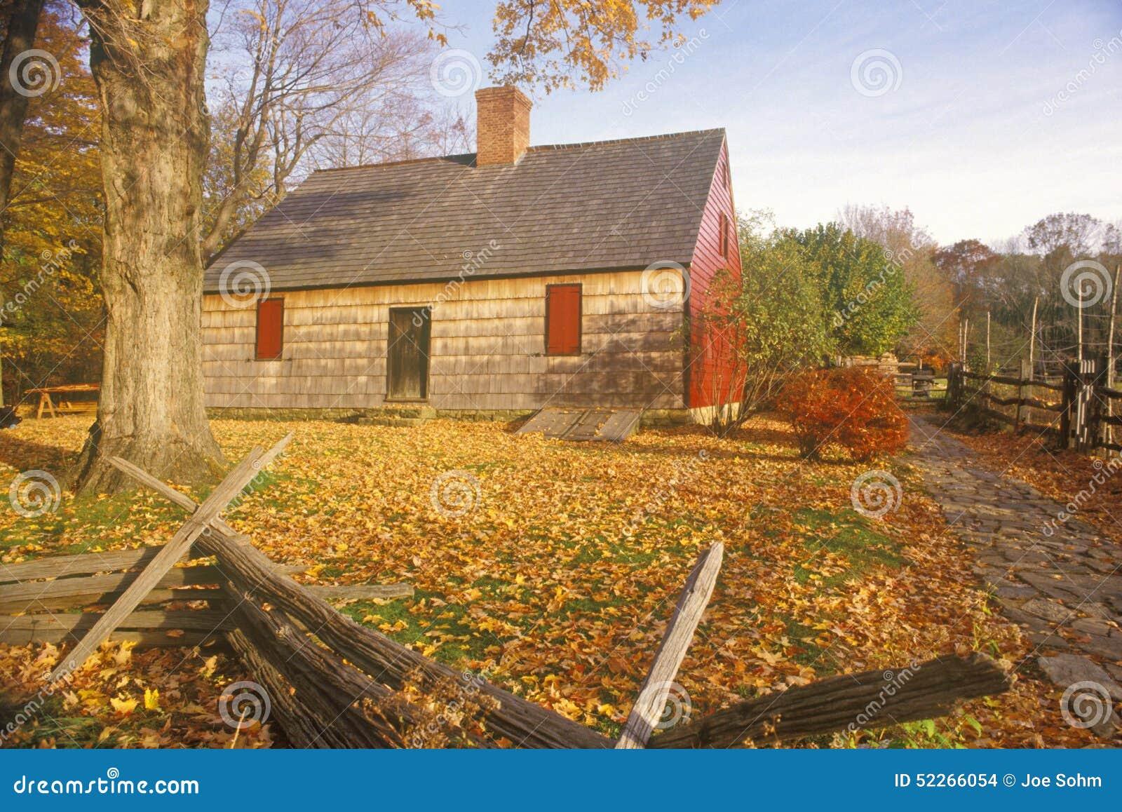 Henry Wick House, casa de tropas revolucionárias no parque de Morristown, NJ