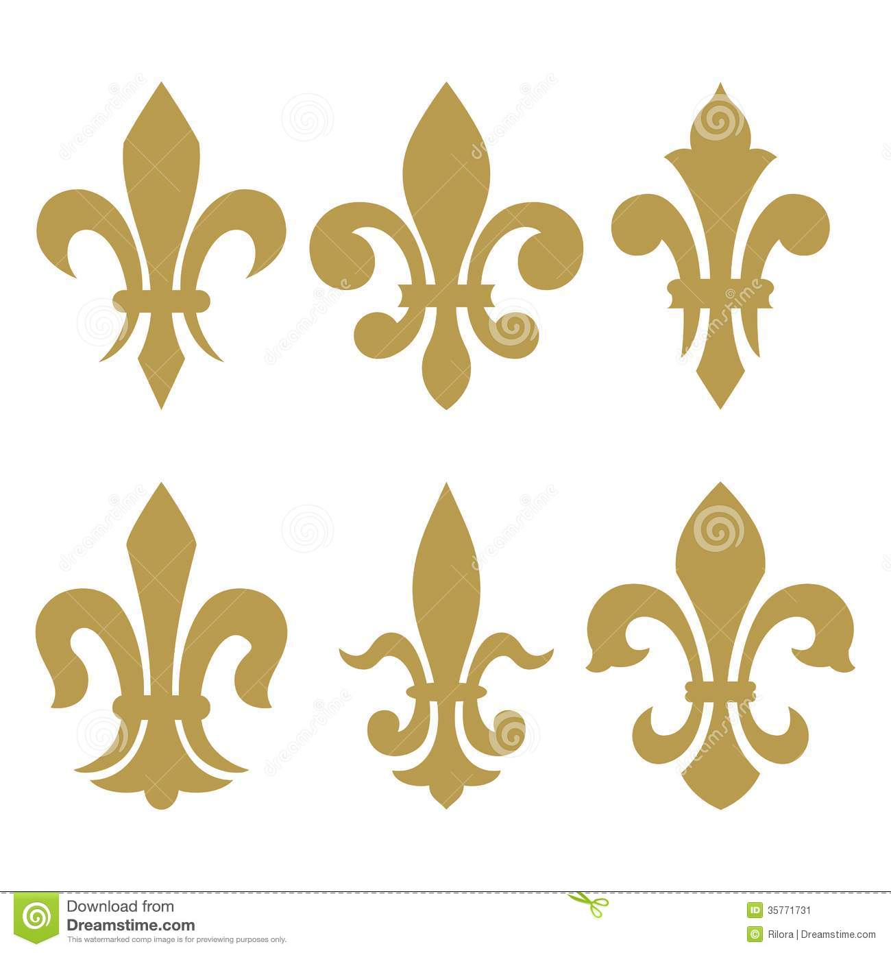 heraldic symbols fleur de lis stock image image 35771731. Black Bedroom Furniture Sets. Home Design Ideas