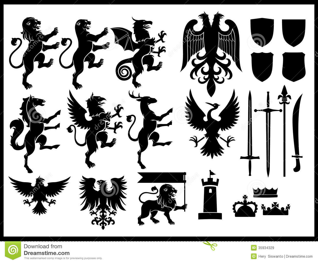 heraldry clipart download free - photo #36