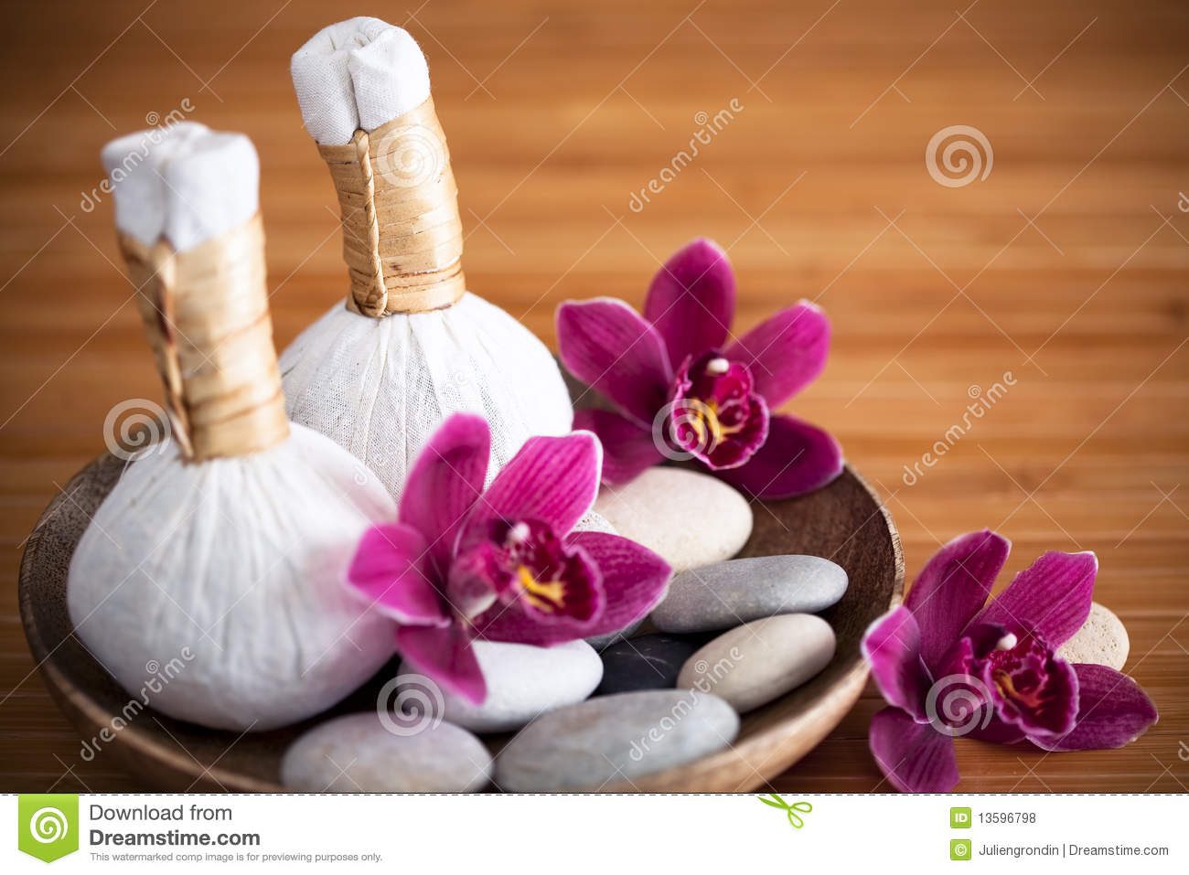 Herbal massage compresses