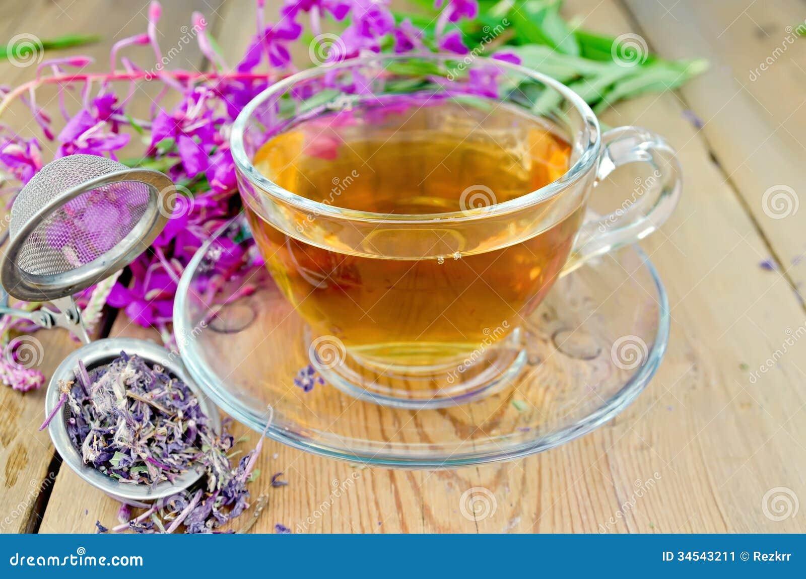 Как сделать черный чай из кипрея в домашних условиях