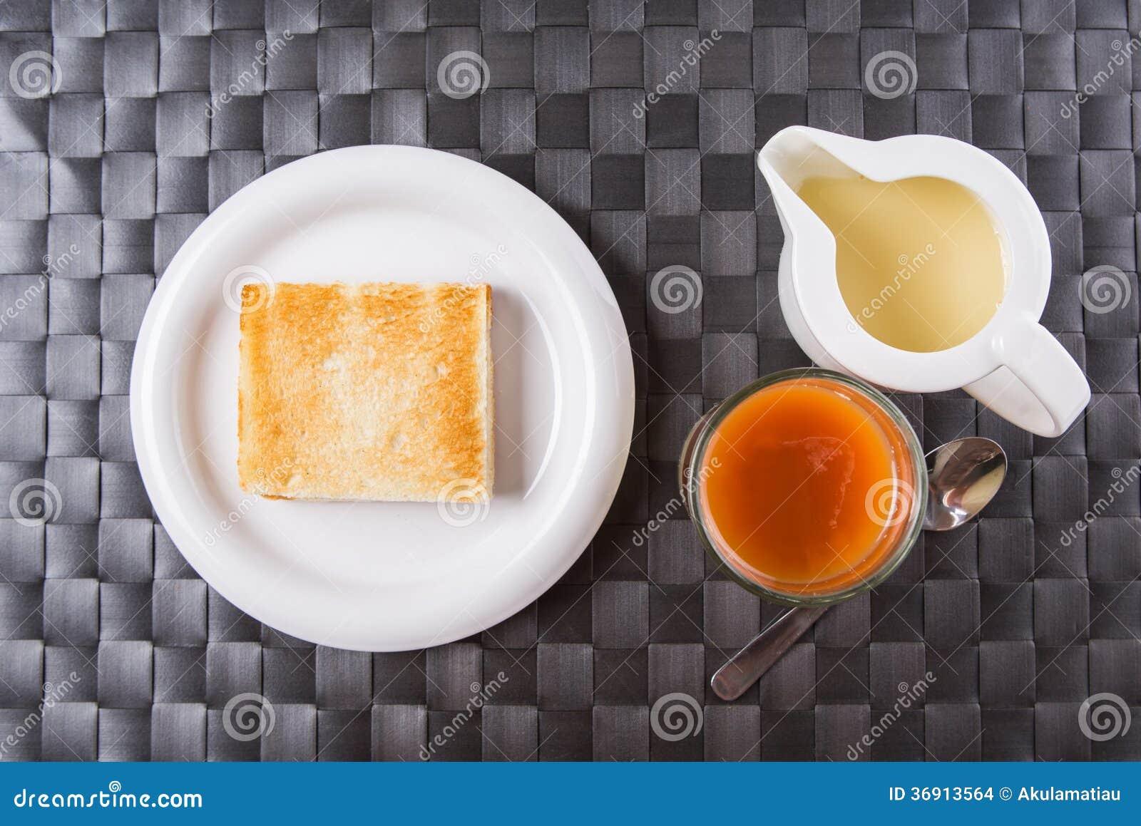 Herbata, grzanka i Kondensujący mleko II,