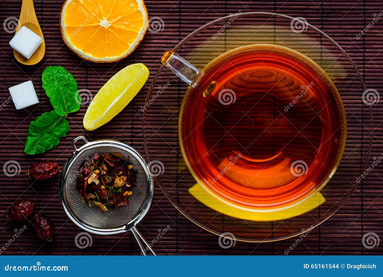 Herbata z Herbacianymi składnikami