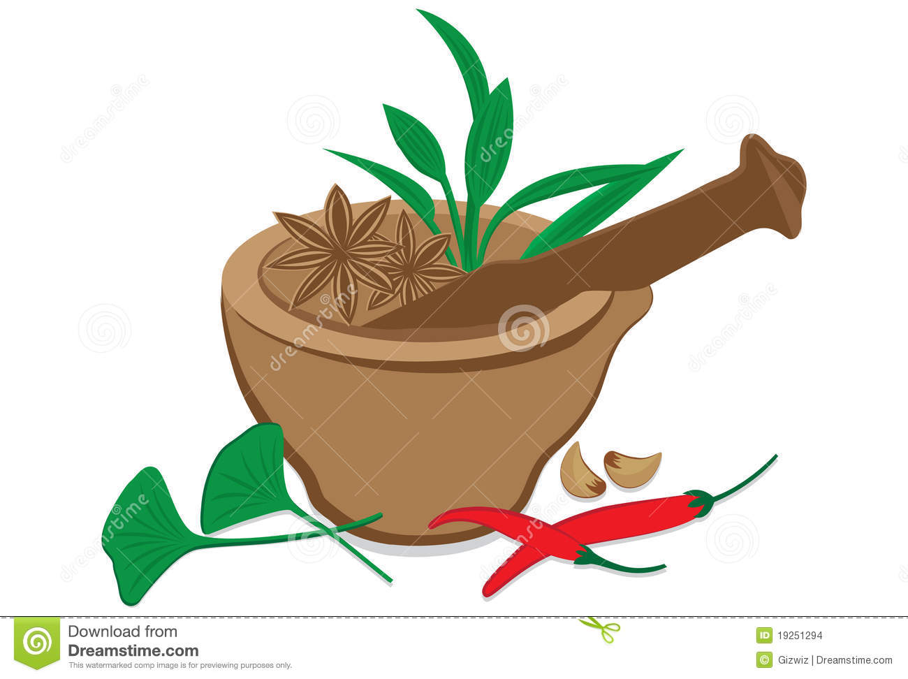 Herbs And Spices Stock Images Image 19251294