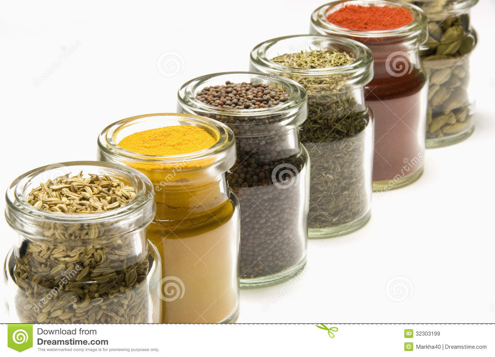 Bulk herbs wholesale - Royalty Free Stock Photo