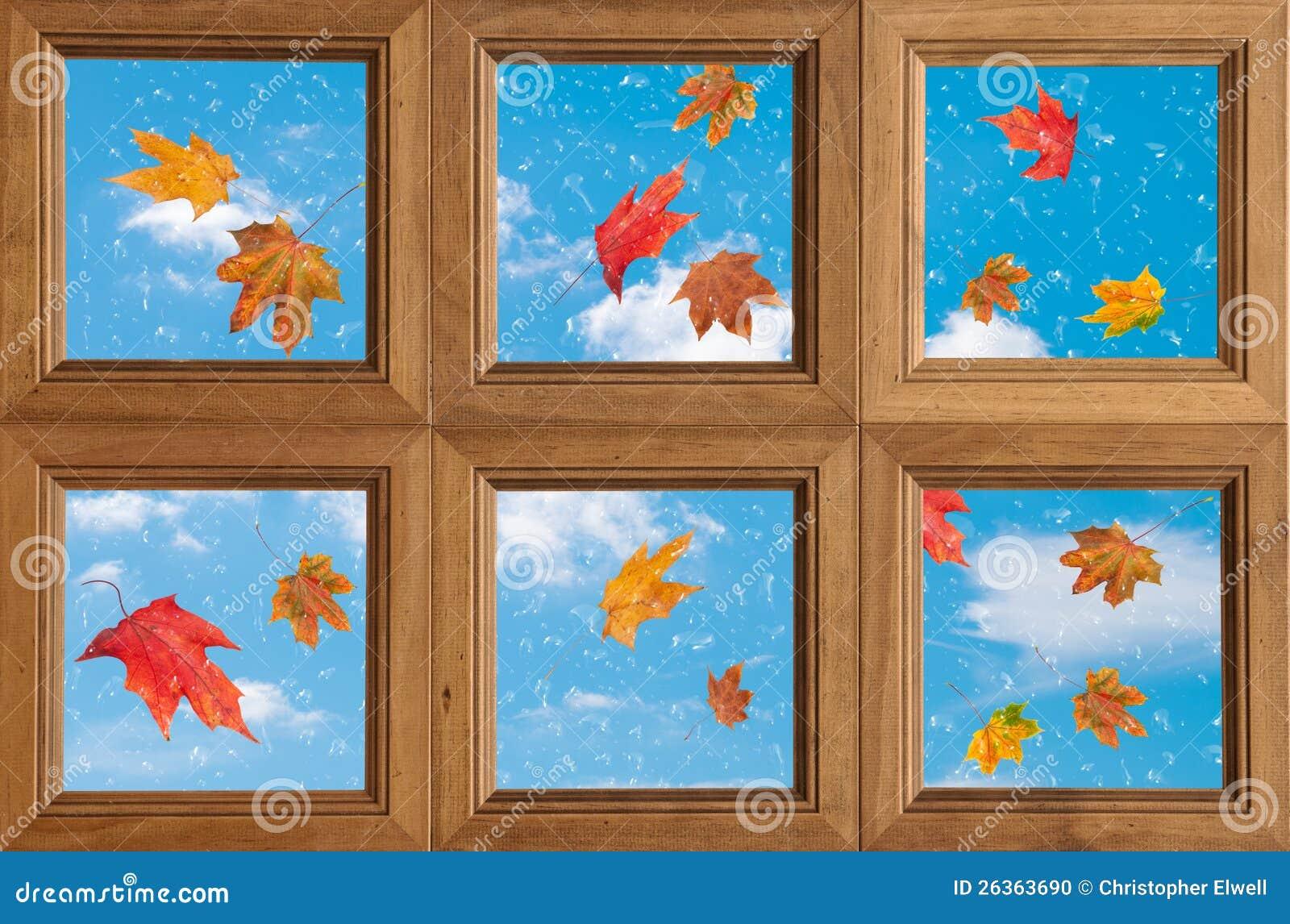 Herbst-Fenster
