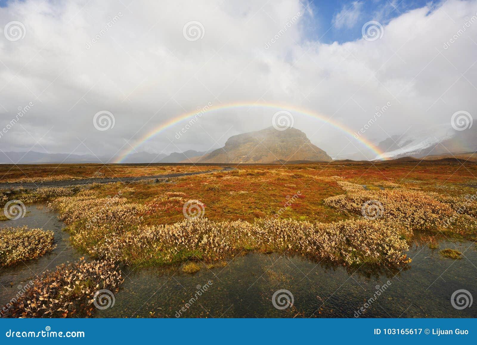Herbst In Island Stockbild Bild Von Farbe Landschaft 103165617