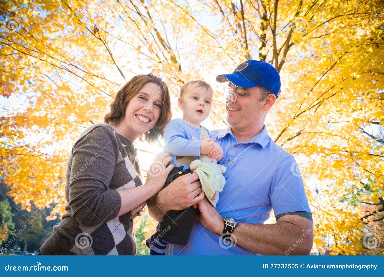 Herbst ist Spaß für die Familie