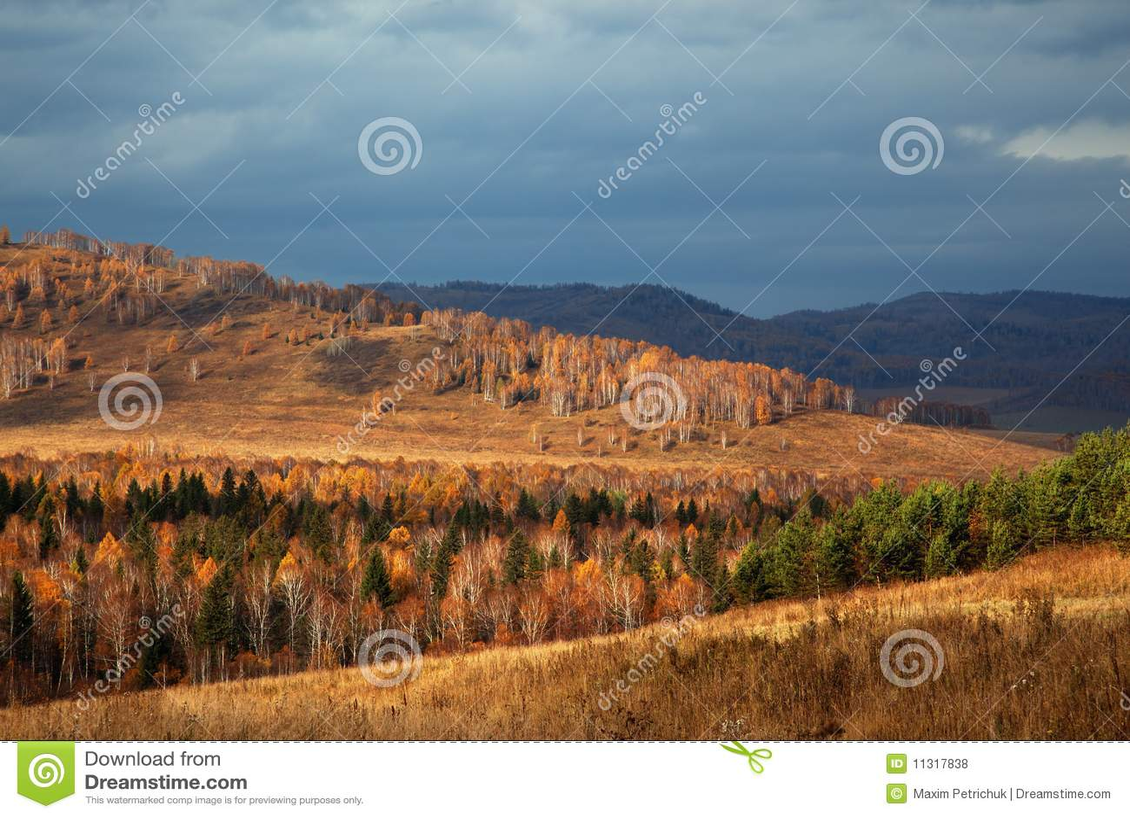 Herbst-Landschaft