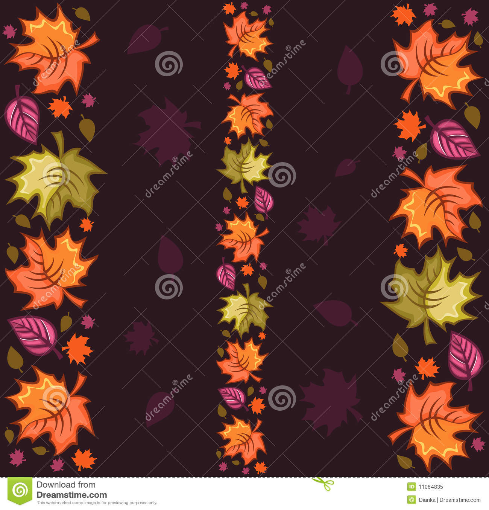 Herbst-nahtloses Muster