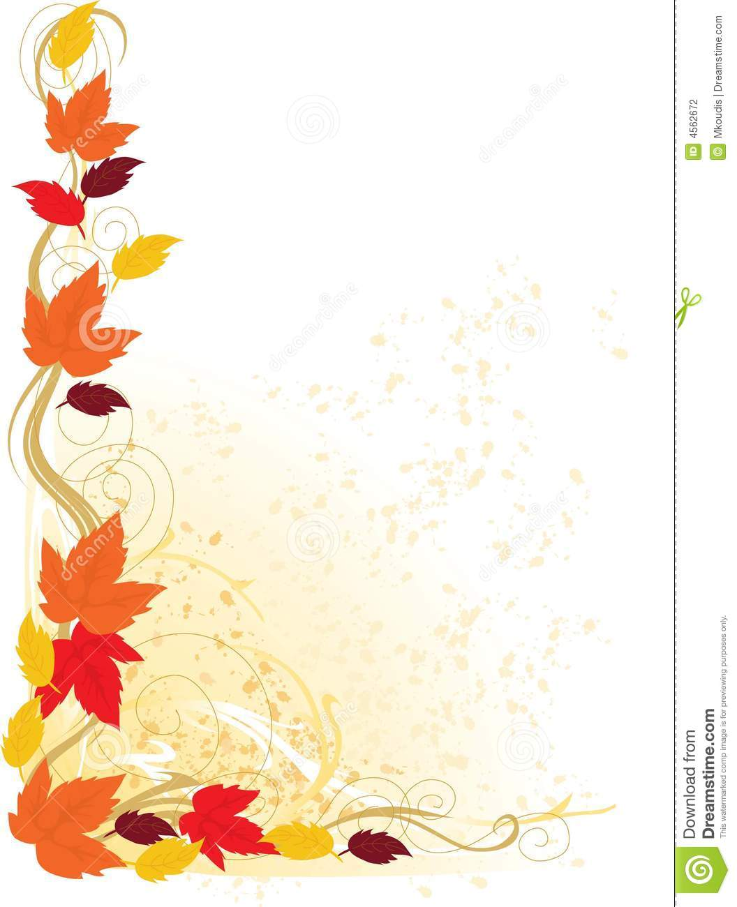 herbst rand stockfotografie bild 4562672 clipart borders king and queen clipart borders king and queen