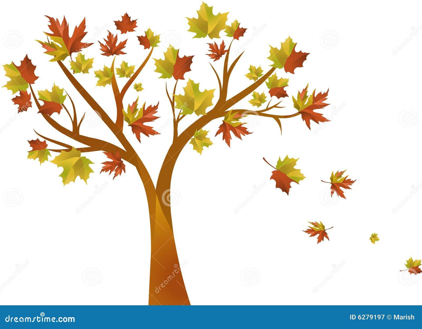 Herbstbaum Lizenzfreie Stockfotografie  Bild 6279197