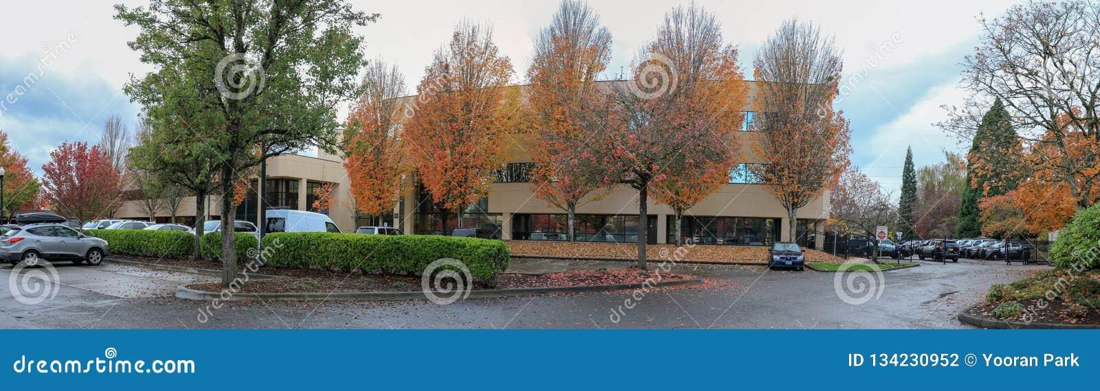 Herbstpark in Portland Beaverton