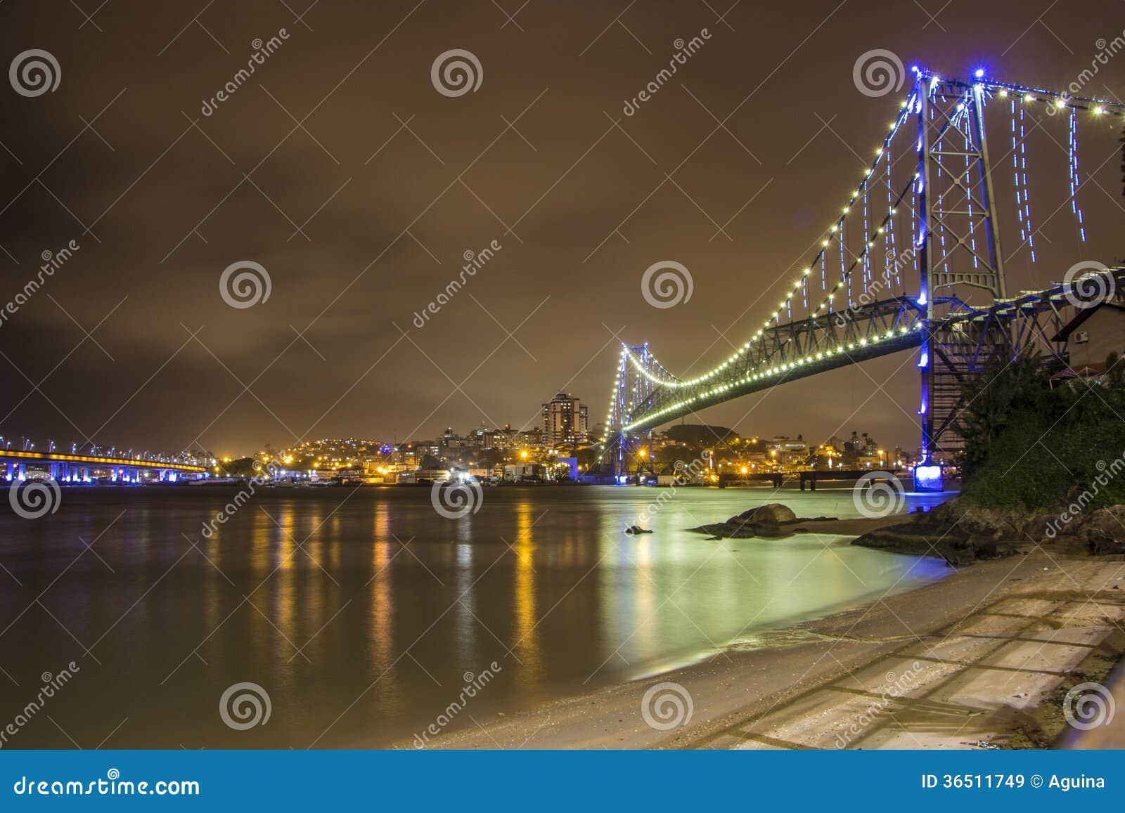 Hercílio Luz Bridge - Florianopolis - SC - Brazil