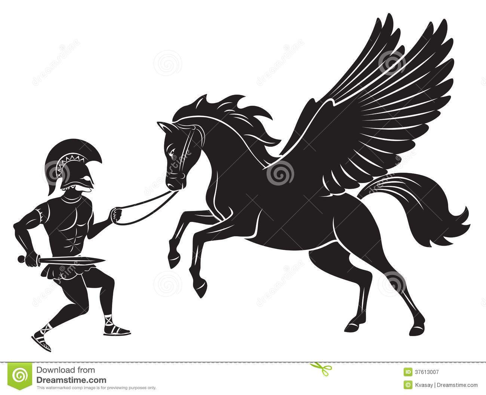 Pegasus And Hercules
