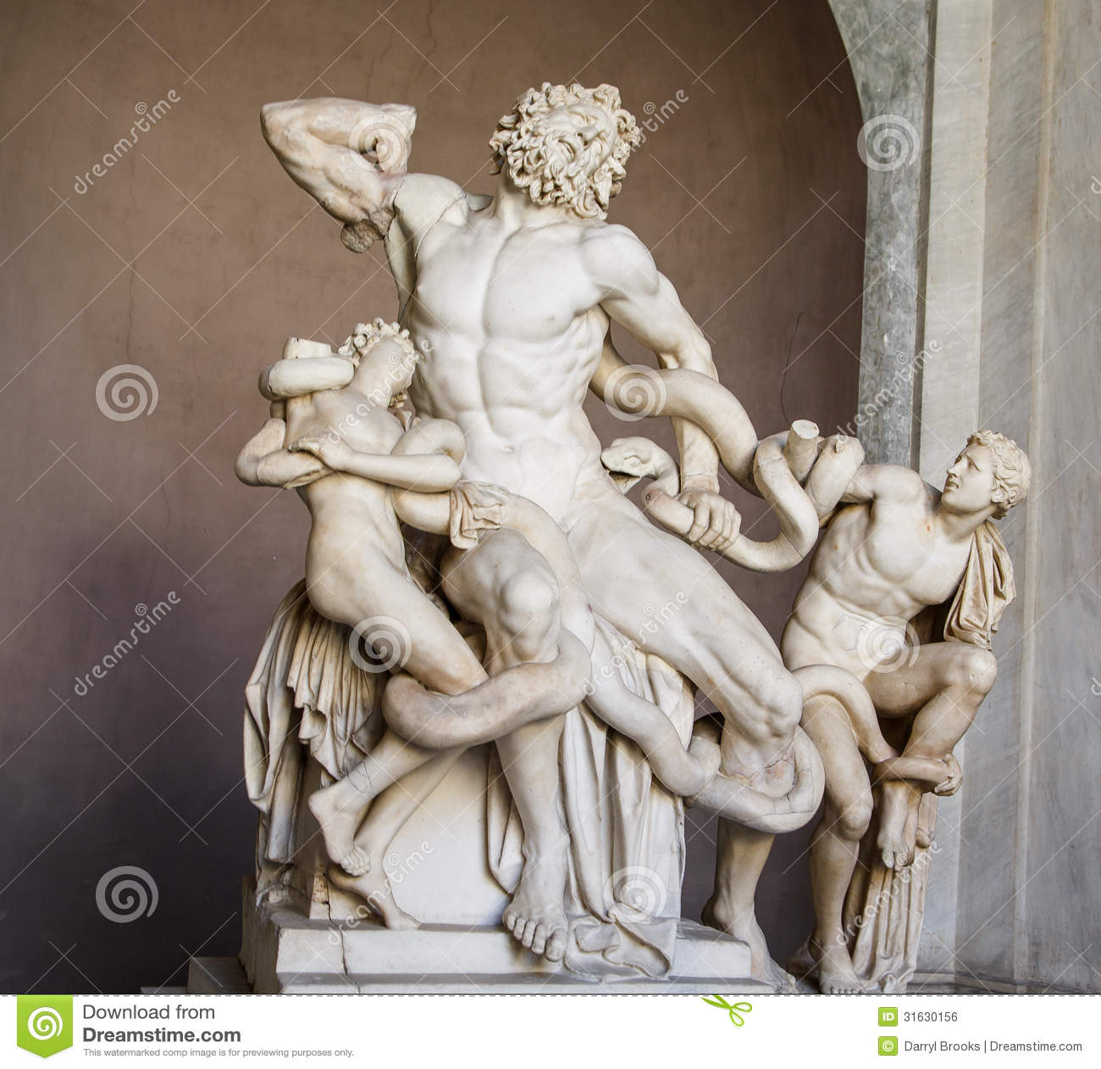 hercules in vatican royalty free stock image image 31630156