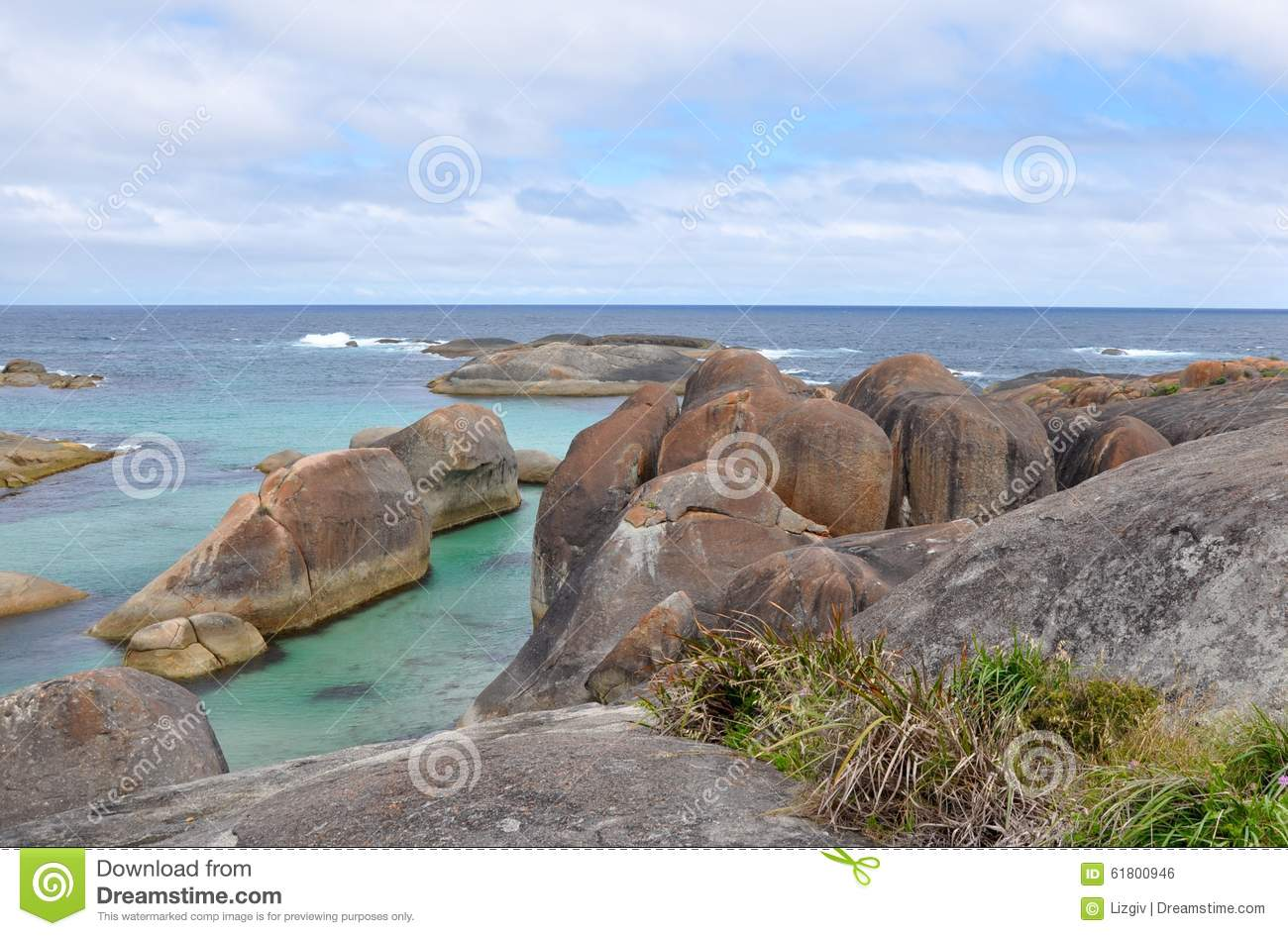 Herd of elephant rocks stock photo image of park stormy for Landscaping rocks east bay