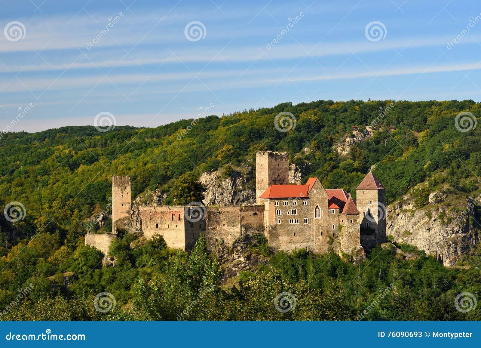 Herdegg Beau vieux château dans la campagne gentille de l Autriche Vallée de Thaya de parc national, Basse Autriche - Europe