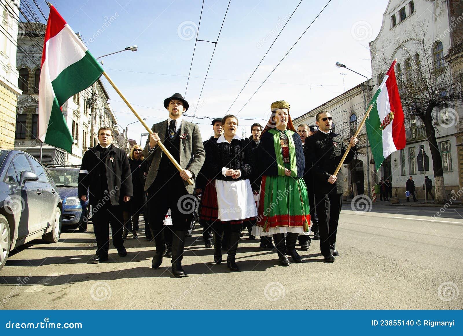 Herdenking van de Hongaarse Revolutie