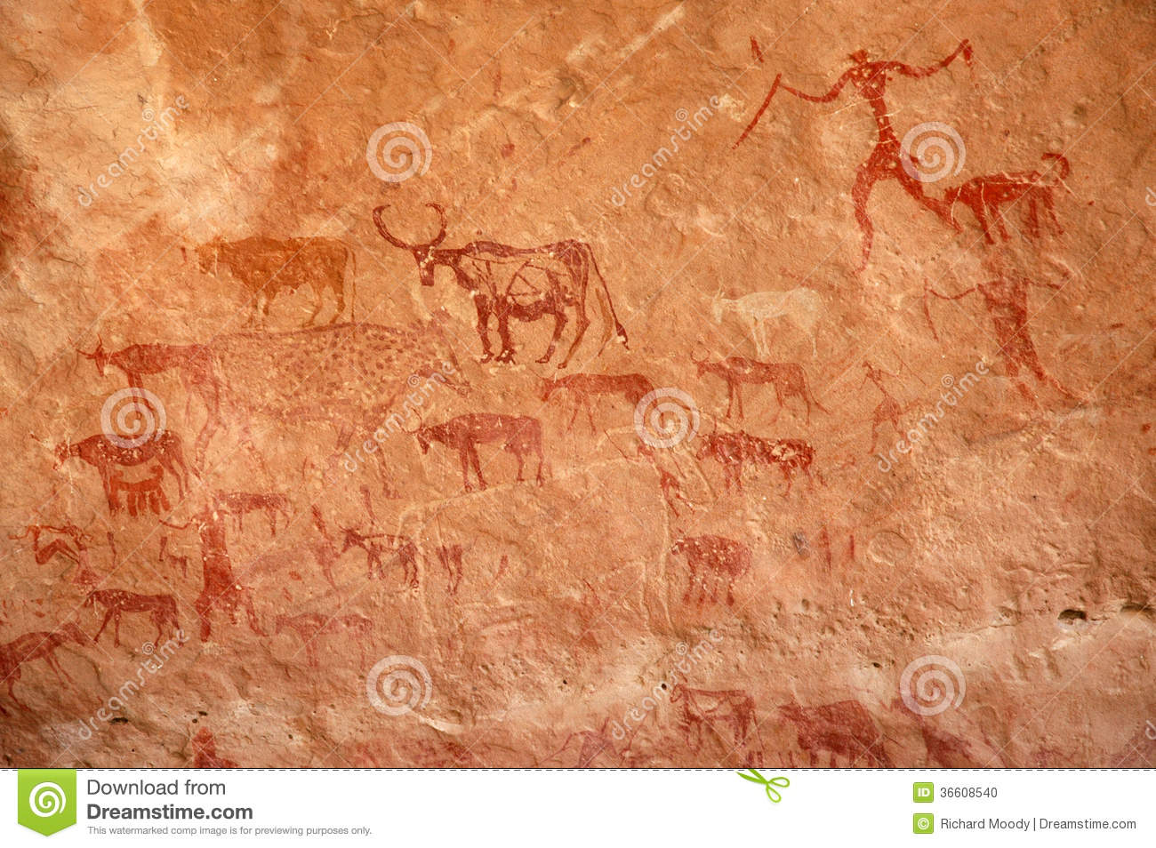 Herder Cave Painting