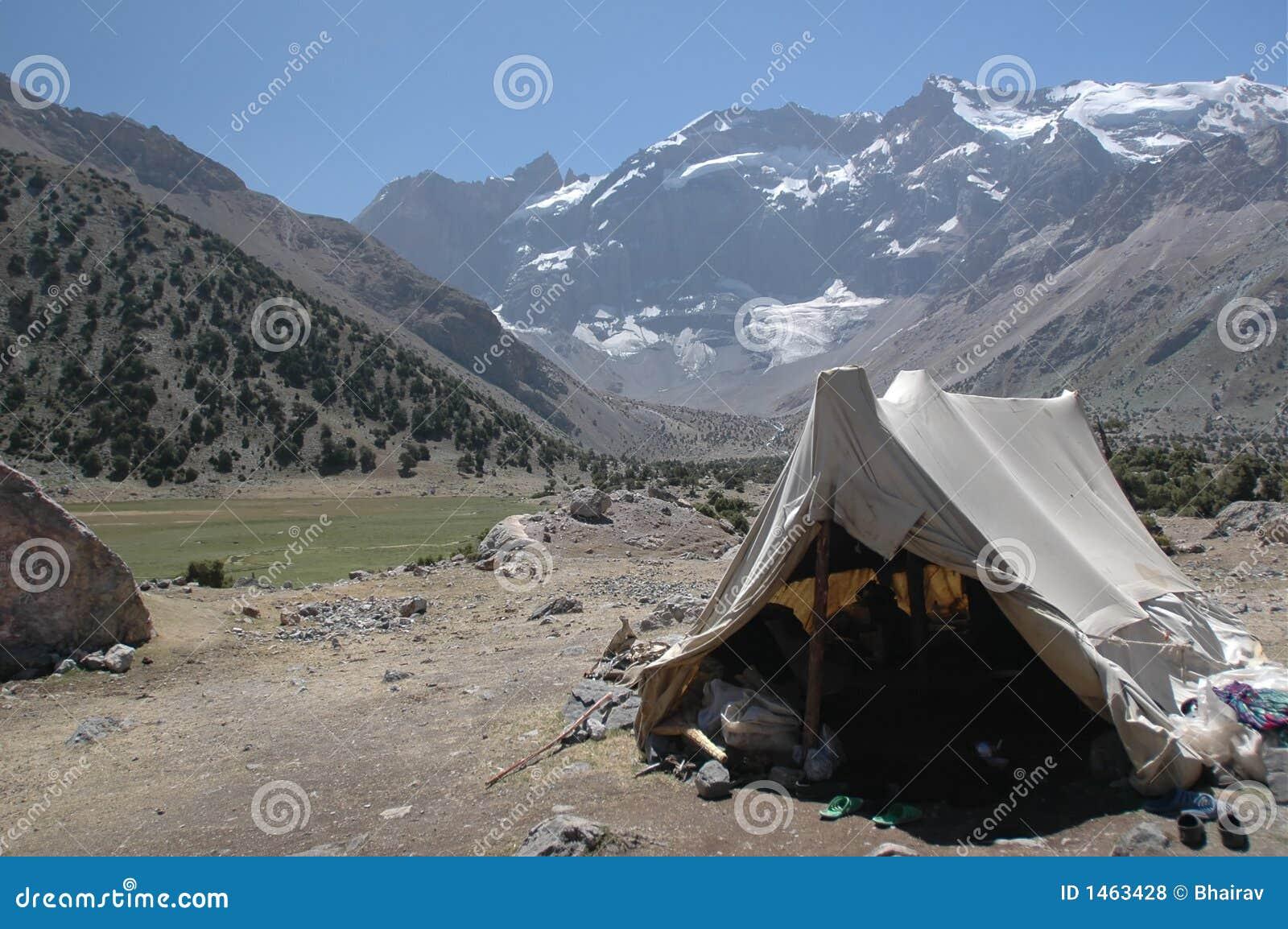 Herder s tent