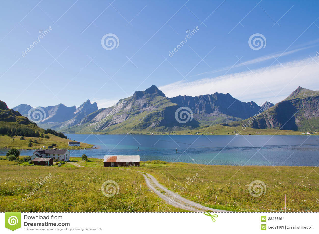 Here lives a fisherman stock image image 33477661 for Peak fishing times