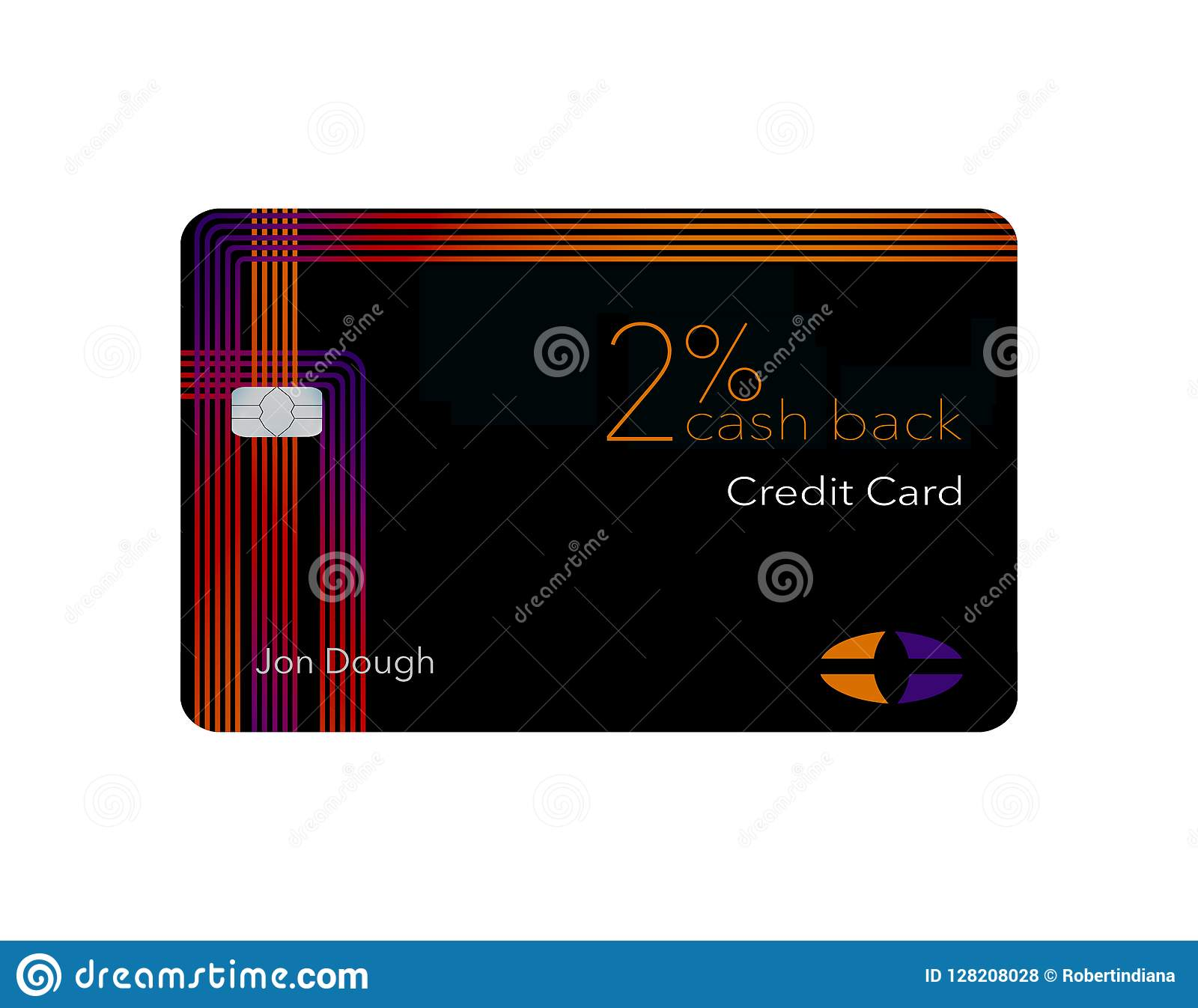 Here Is A 2-percent Cash Back Credit Card. This Card Is