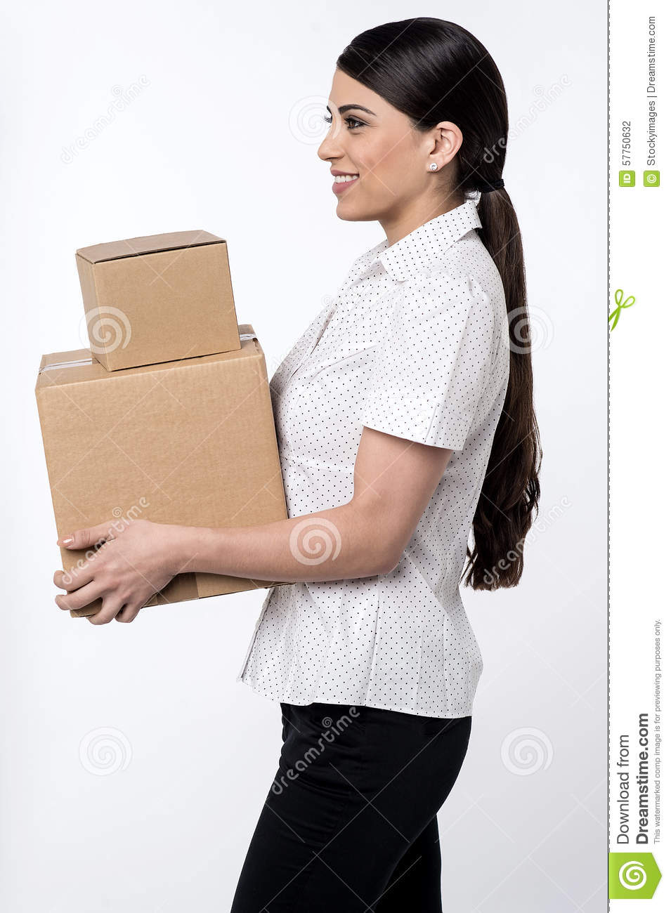Here is your parcels is sir !