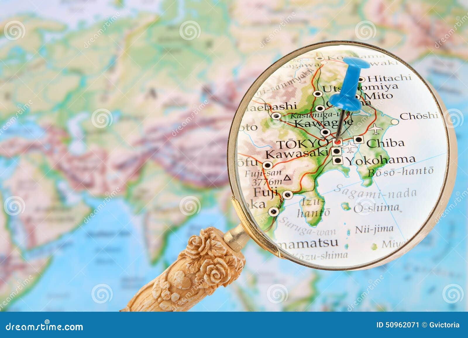 Herein Auf Tokyo, Japan Schauen Stockbild - Bild von bereich, weit ...