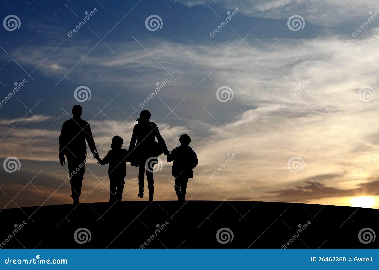 Herenigde familie