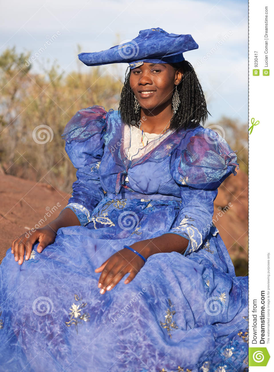 Herero African Royalty Free Stock Photography Image 9230417