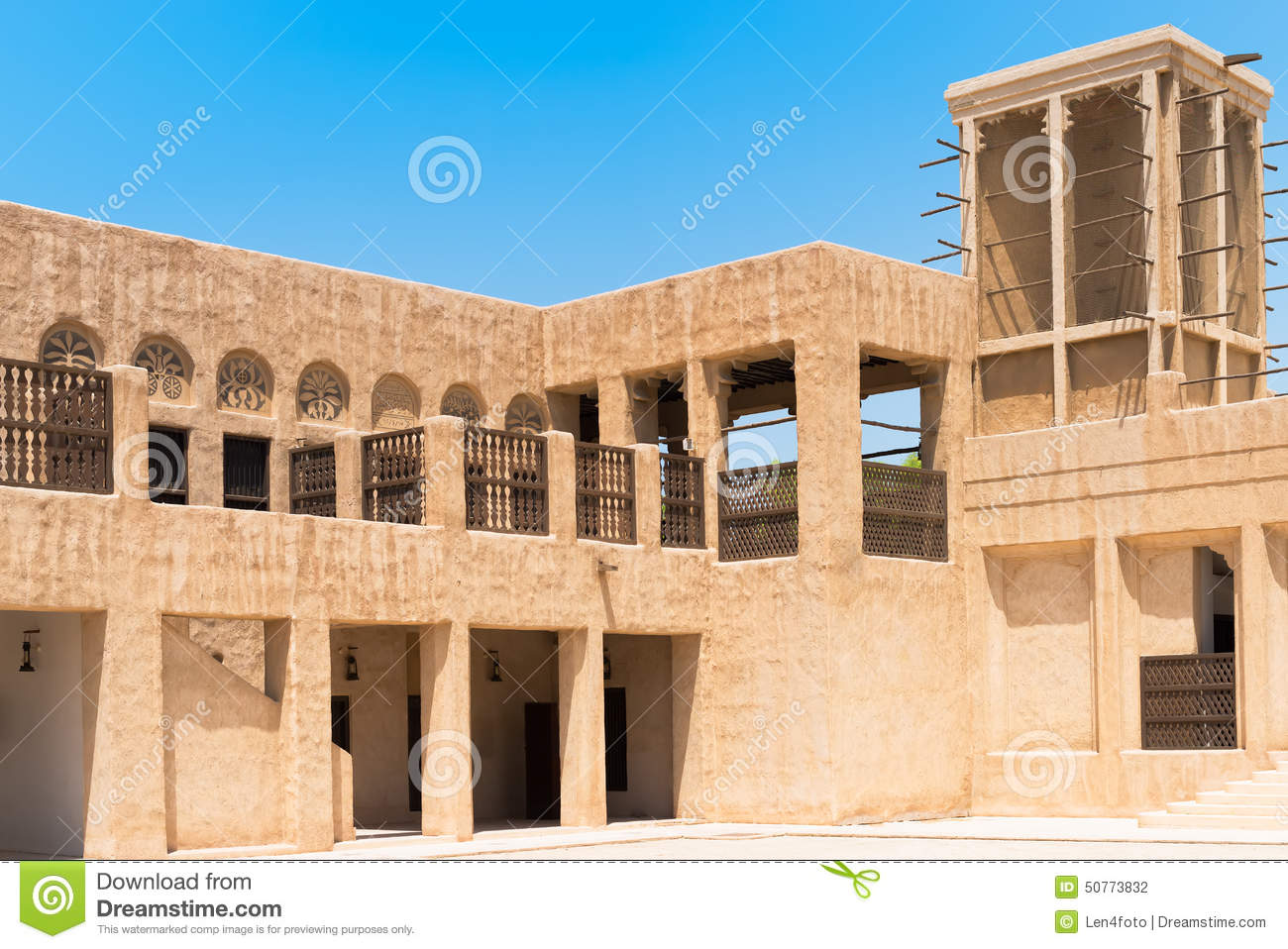 Heritage house in dubai stock photo image 50773832 for Home of architecture uae
