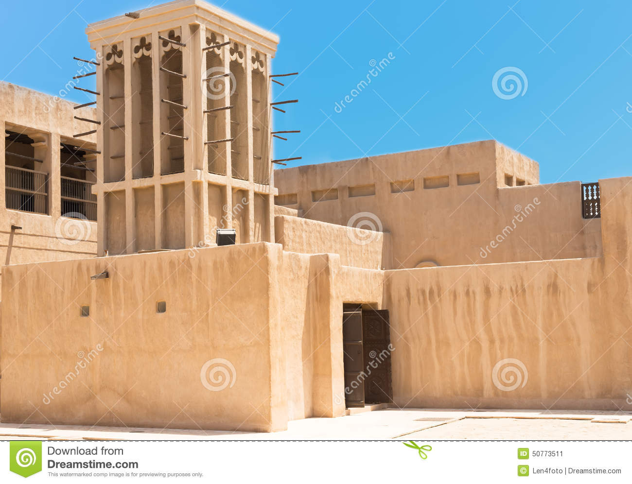 Heritage House In Dubai Uae Stock Photo Image 50773511