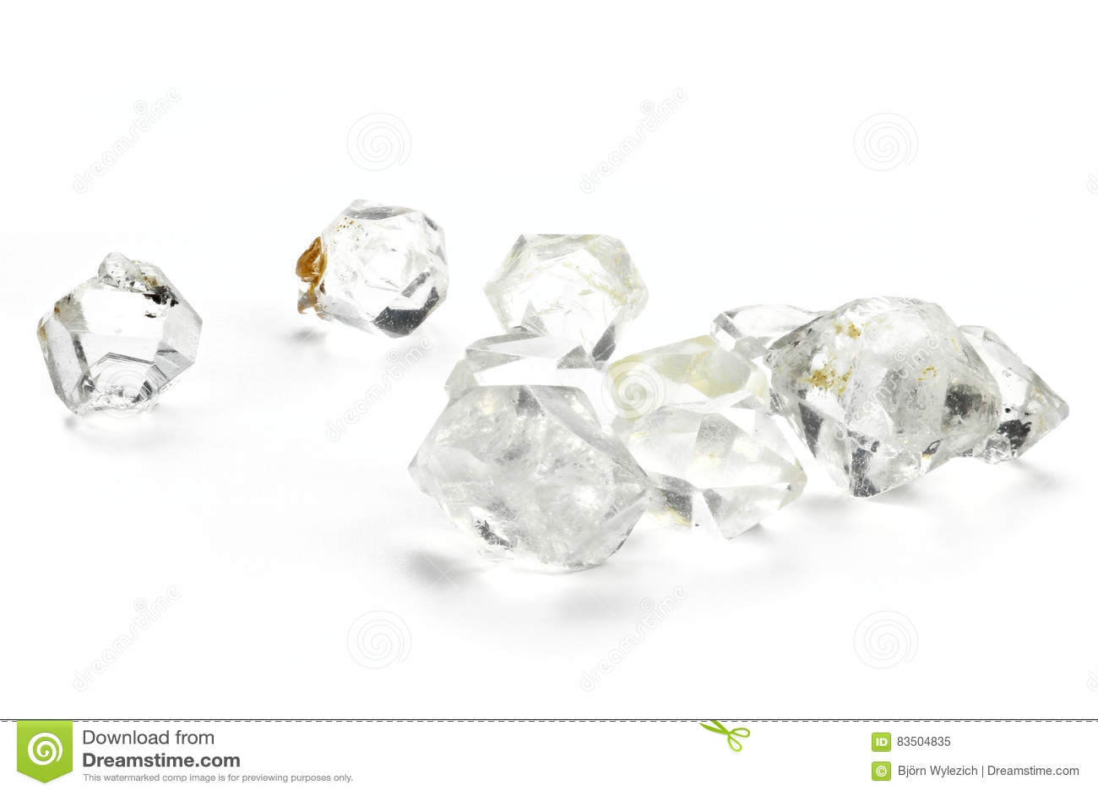 Herkimer diamenty