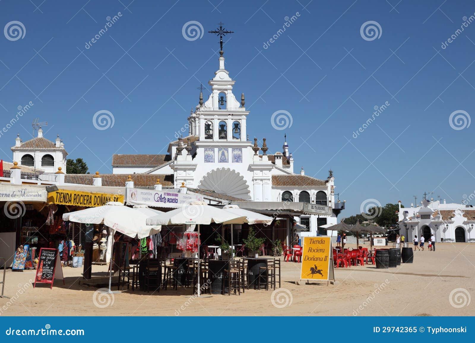 Hermitage Of El Rocio, Spain Editorial Image - Image: 29742365