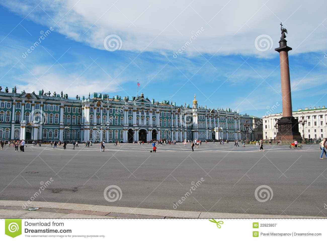Hermitage - Famous Russian Landmark Stock Image - Image of