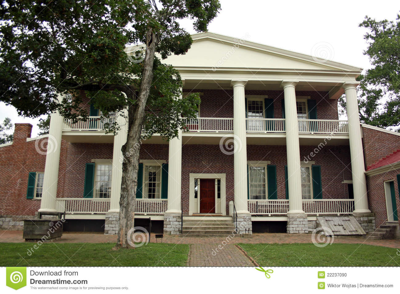 Hermitage Home Of President Andrew Jackson Stock Photo