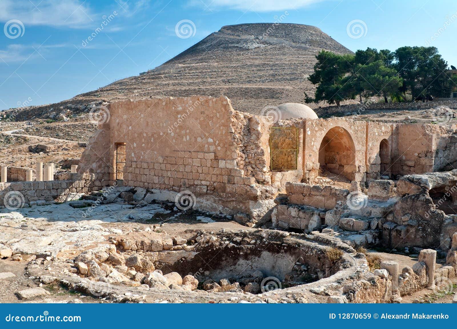 Herodium, forteresse antique.