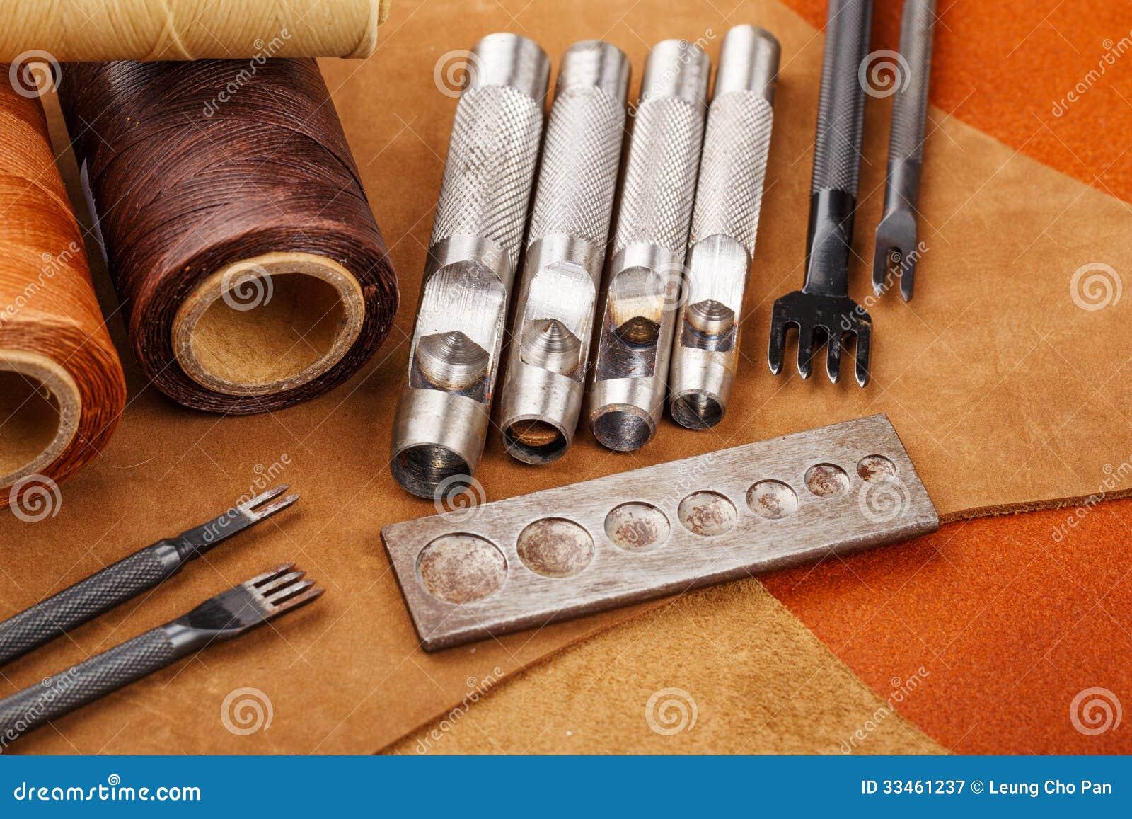Herramienta y accesorios de cuero hechos en casa del arte - Accesorios para casa ...
