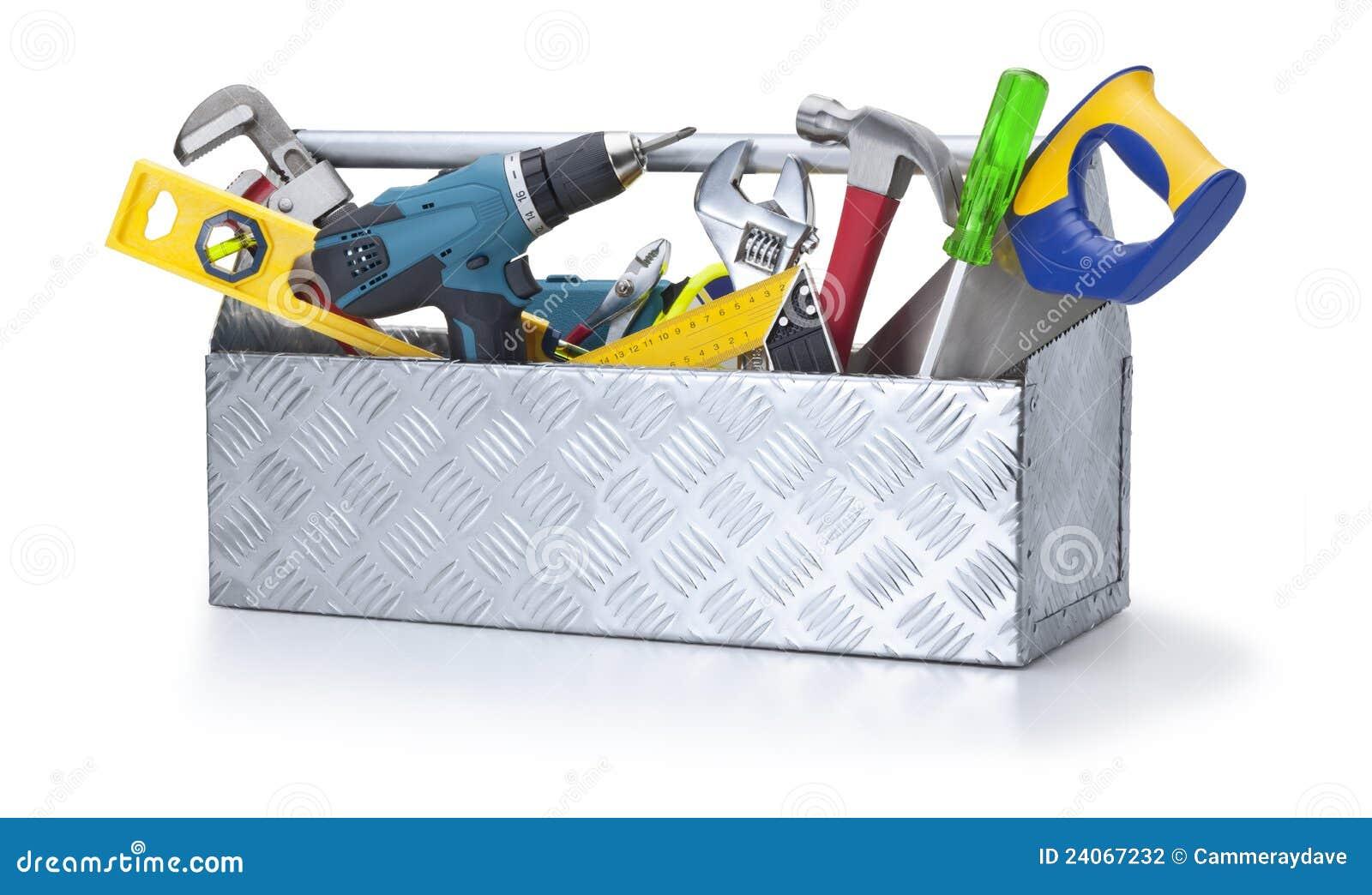 Herramientas de la caja de herramientas