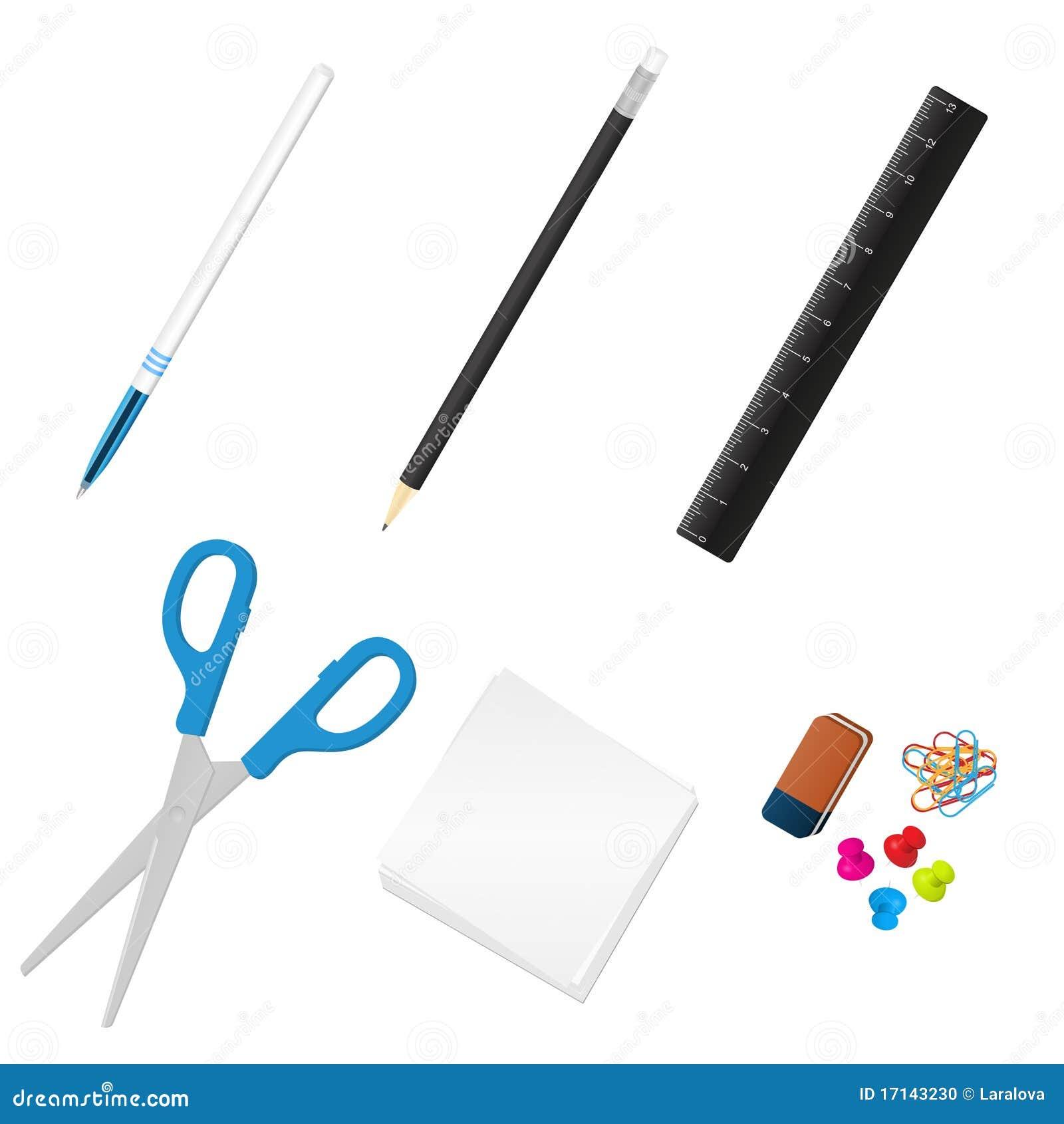 Herramientas de la oficina foto de archivo imagen 17143230 for Herramientas de oficina