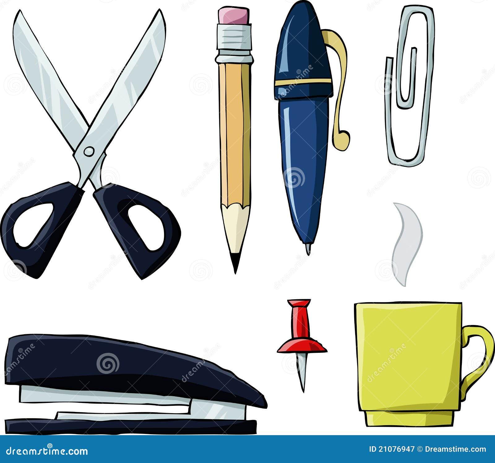 herramientas de la oficina fotograf a de archivo libre de