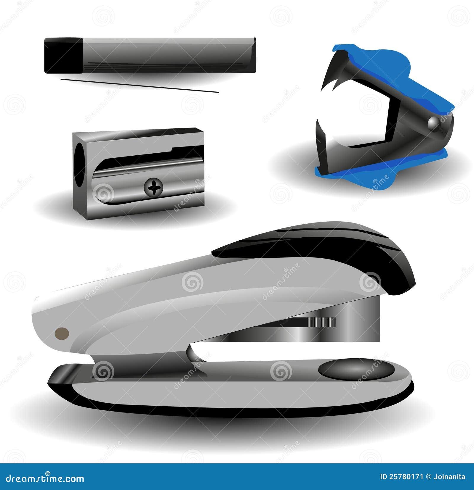 Herramientas de la oficina ilustraci n del vector imagen for Oficina de empleo lalin