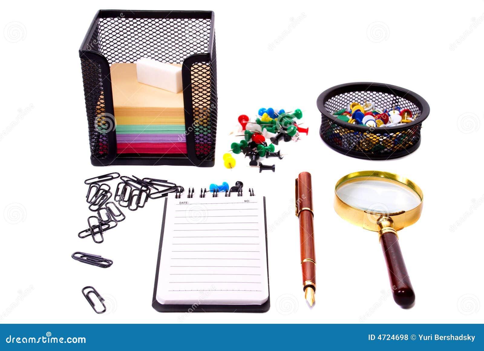 Herramientas de la oficina foto de archivo imagen de for Que son tecnicas de oficina