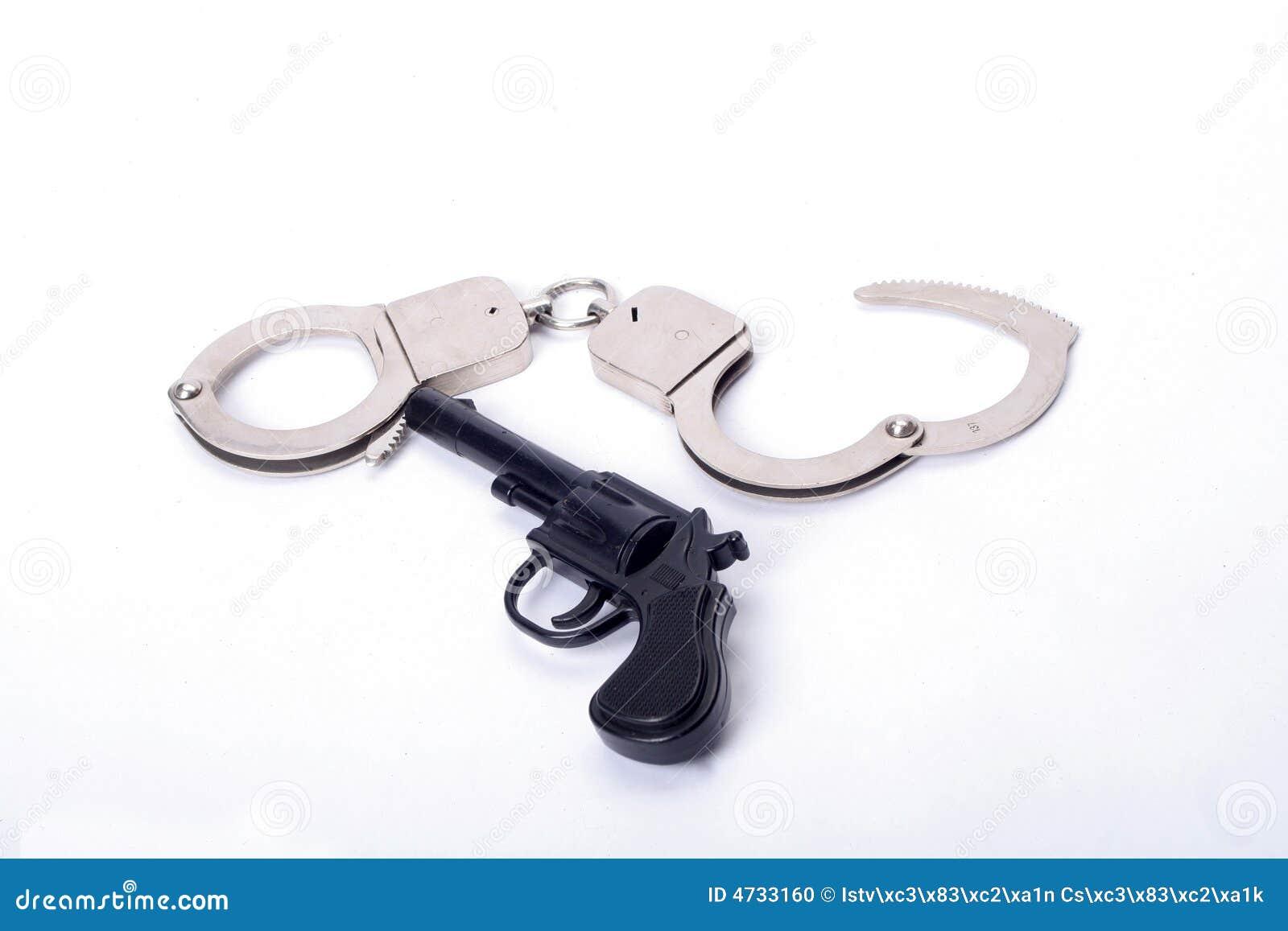 Herramientas de la policía foto de archivo. Imagen de