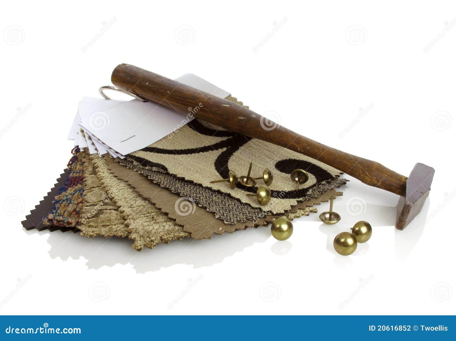 Herramientas del tapicero - Grapadora de tapicero ...